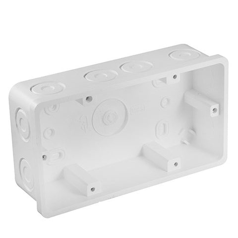 Crabtree Flush Mount Wall Box with 12 Knock Outs 150mm x 75mm