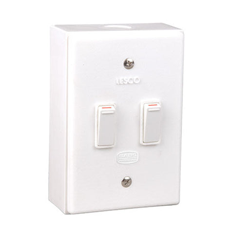 Lesco Lss 2 Lever 2X1 Way Surface Switch Sw
