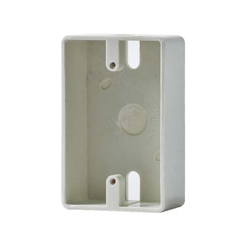 Allbro Single Surface Mount Socket Outlet Box 040-723