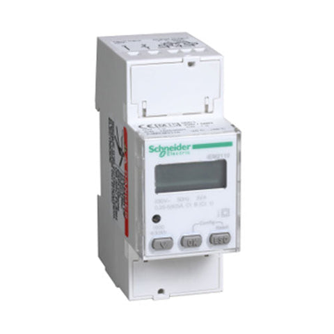 Schneider Electric  Acti 9 Iem2110 Rail Mount Energy Meter 63A With Two Tariffs