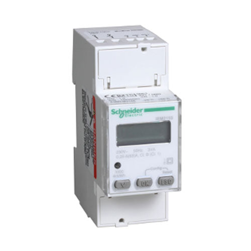 Schneider Electric  Acti 9 Iem2155 Rail Mount Energy Meter 63A Mid Certified