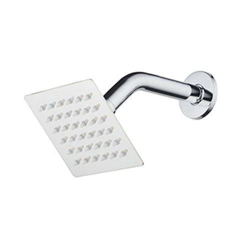 Wildberry Superslim Shower Head Square 100mm