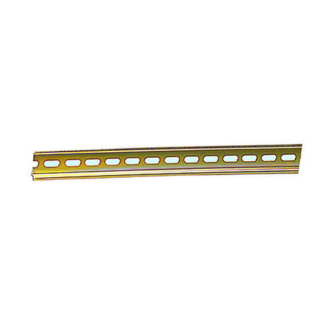 ACDC Din Yellow Slotted Steel Rail 35 2M