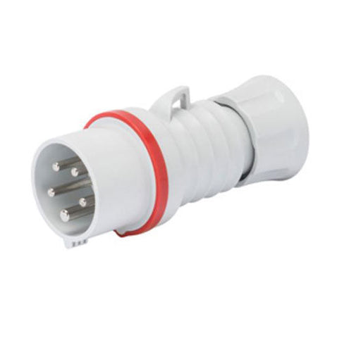 ACDC Industrial Plug 3P N E 400V 32A IP44 6H