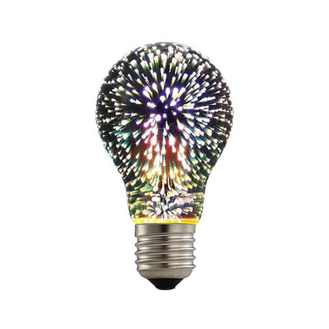 ACDC LED 3D Effect Night Light Bulb A60 E27 2W
