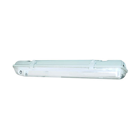 ACDC T8 LED Weatherproof Linear Light 22W IP65 No Tube