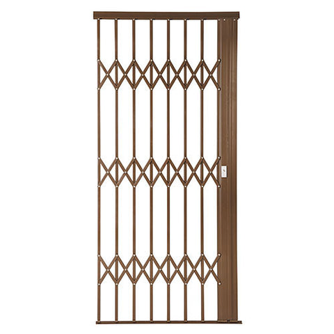 Xpanda Alu-Glide Plus Security Gate - 1000mm Bronze | Sliding Security Gate