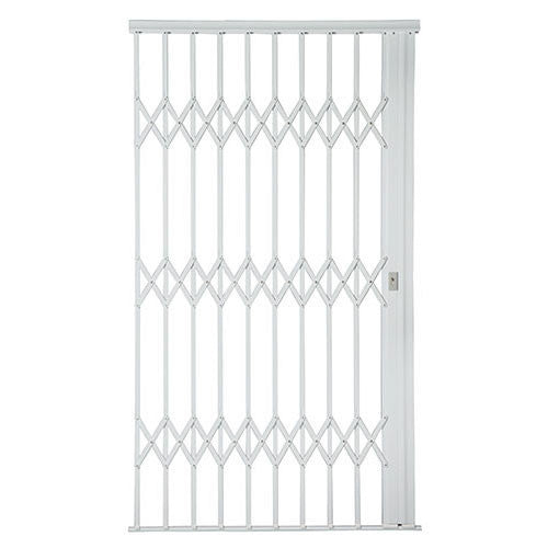 Xpanda Alu Glide Plus Security Gate 1500mm White