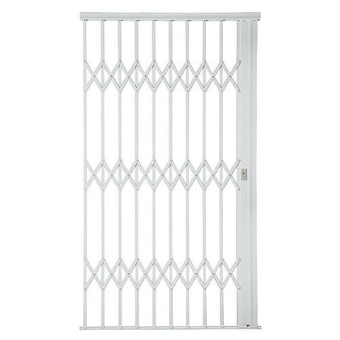 Xpanda Alu-Glide Plus Security Gate - 1500mm White