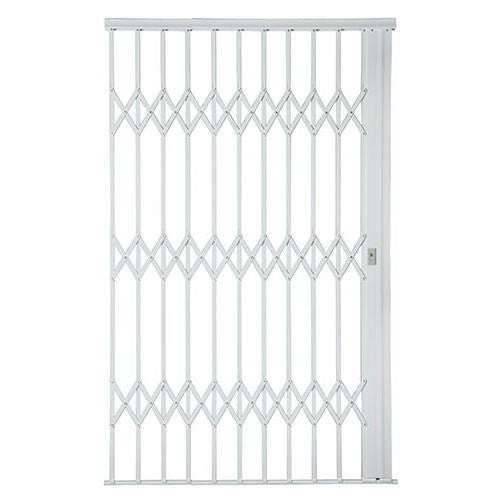 Xpanda Alu Glide Plus Security Gate 1800mm White