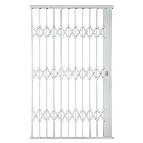 Xpanda Alu-Glide Plus Security Gate - 1800mm White
