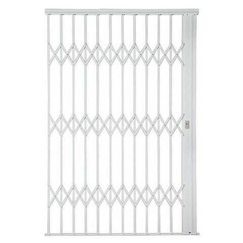 Xpanda Alu-Glide Plus Security Gate - 2200mm White | Sliding Security Gate