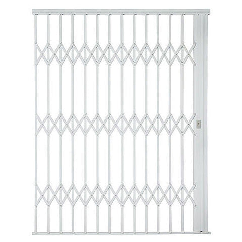 Xpanda Alu-Glide Plus Security Gate - 2500mm White