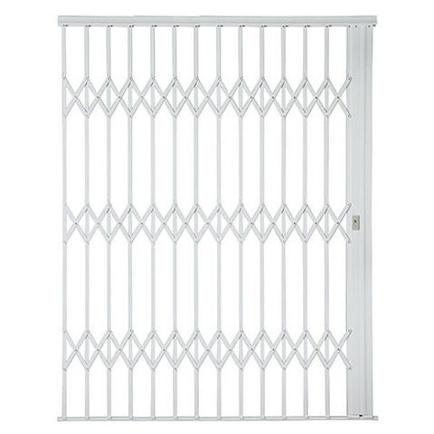 Xpanda Alu-Glide Plus Security Gate - 2500mm White | Sliding Security Gate