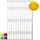 Xpanda Alu Glide Security Gate 1800mm White
