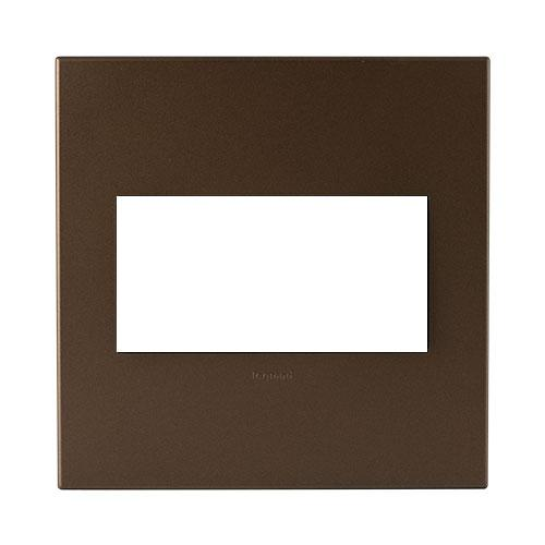Legrand Arteor Cover Plate 4 Modules 4 x 4 - Dark Bronze