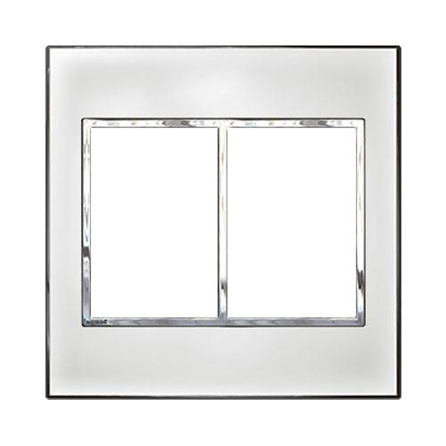 Legrand Arteor Cover Plate 2 x 3 Modules 4 x 4 - Mirror White