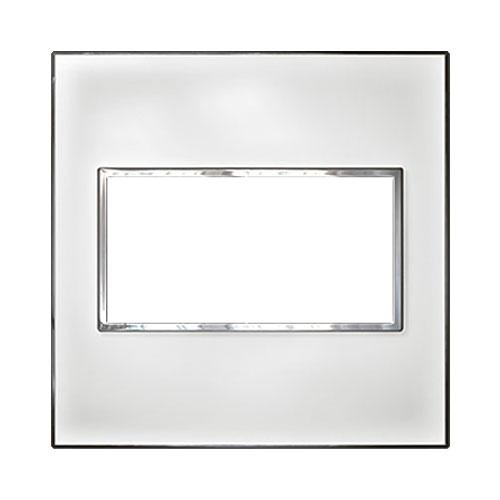Legrand Arteor Cover Plate 4 Modules 4 x 4 - Mirror White