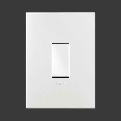 Legrand Arteor 1 Lever Light Switch - White P124WWH