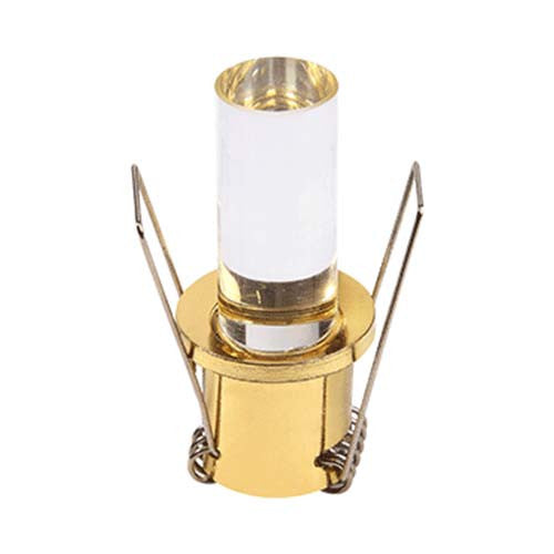 Major Tech LED Gold Cylinder Starlight 1W