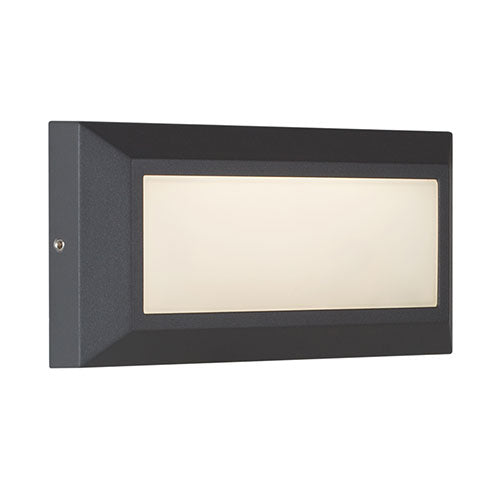 Eurolux Helena LED Black Rectangular Bulkhead