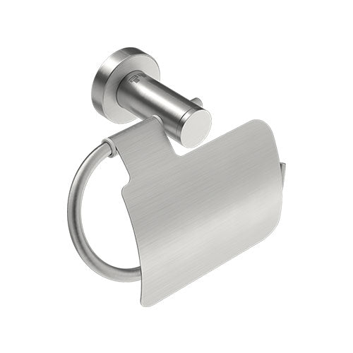 Bathroom Butler 4603 Paper Holder II + Flap - Brushed Stainless Steel