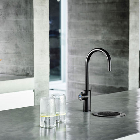 Franke Zip G4 Hydrotap Bcs Matt Black Arc Boiling Chilled Sparkling