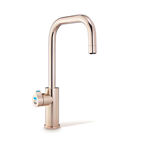 Franke Zip G4 Hydrotap Bcs Rose Gold Cube Boiling Chilled Sparkling