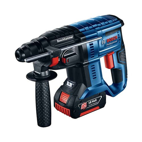 Bosch Blue Cordless Rotary Hammer Gbh 180 Li Solo Execution 18V