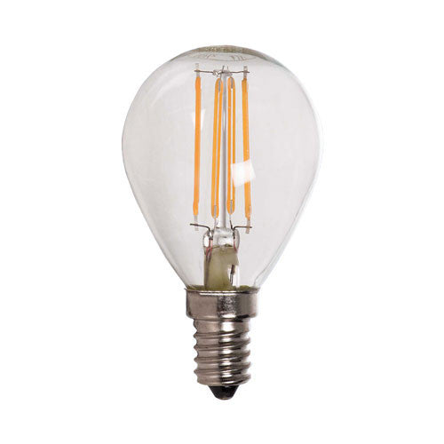 Bright Star LED Filament Golf Ball Bulb E14 4W 360lm - Warm White