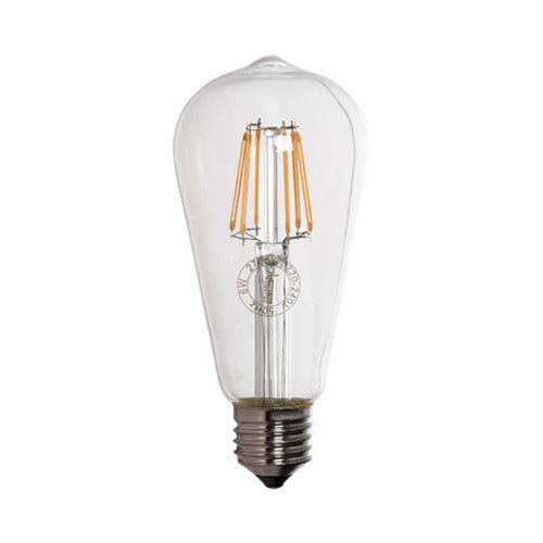 Bright Star LED Filament Bulb E27 6W 580lm Warm White
