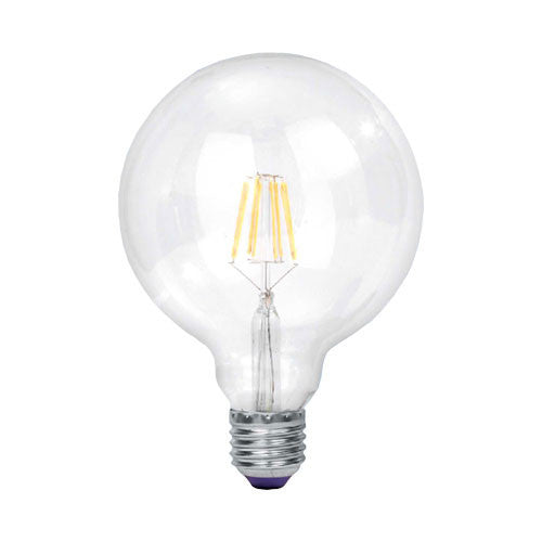 Bright Star LED Filament Bulb G125 E27 9W 950lm Cool White