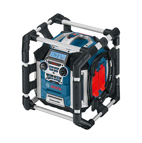 Bosch Blue Hd Cordless Integrated Charger Gml 50 18V