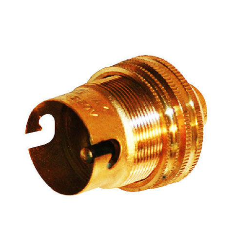 Matelec Brass B22 Pendant Lamp Holder 10mm