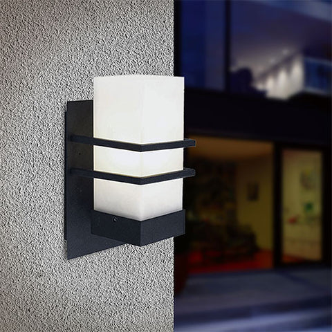 Bright Star Square Aluminium Wall Light L231