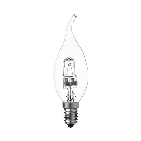 Bright Star E14 Halogen Flame Bulb 42W