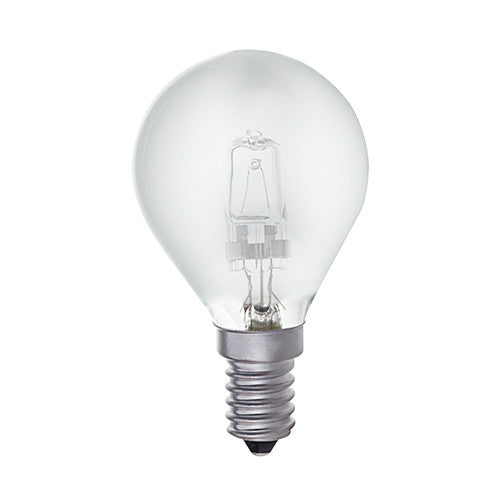 Bright Star Halogen Frosted Golf Ball E14 42W - Warm White