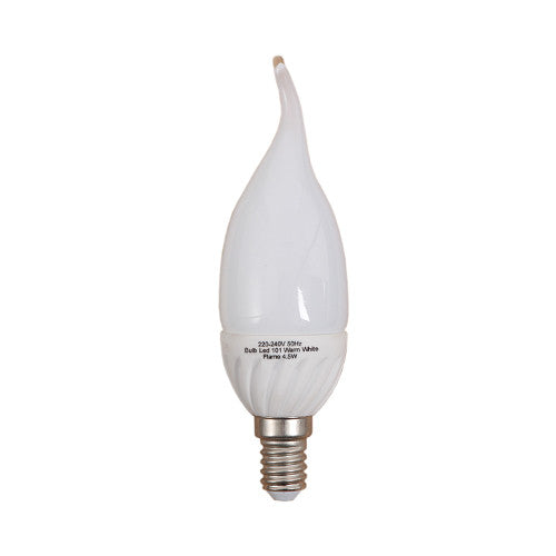 Bright Star LED Flame Bulb E14 4.5W 360lm - Warm White