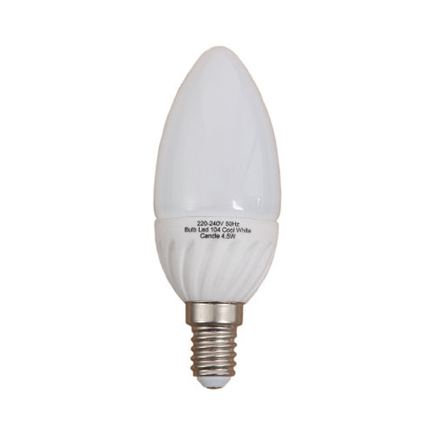 Bright Star E14 LED Cool White Candle Bulb 4.5W