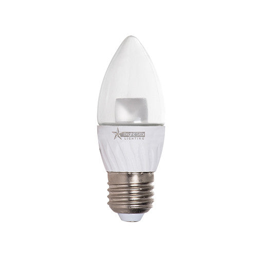 Bright Star LED Candle Bulb E27 5W 350lm - Warm White