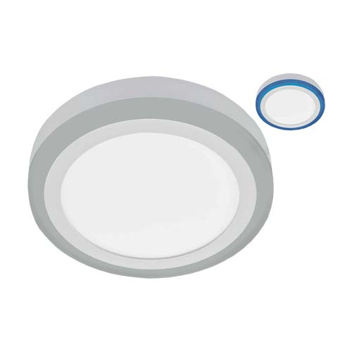 Bright Star Circular Aluminium Alloy and Polycarbonate Cover LED Ceiling Fitting