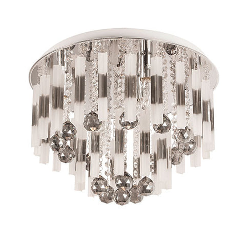 Bright Star Glass & Crystal Ceiling Light CF285/6