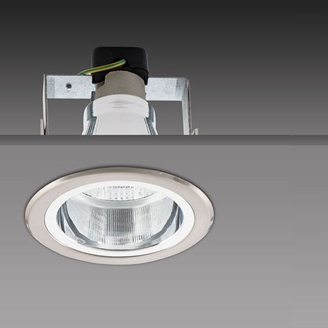 Bright Star Round Straight Downlight Satin Chrome