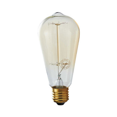 Bright Star E27 40W Carbon Filament Nipple Bulb BULB 715