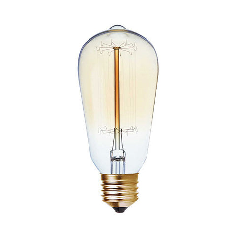 Bright Star E27 60W Carbon Filament Nipple Bulb BULB 714