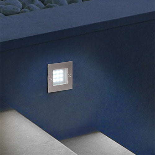 Bright Star LED Stainless Footlight
