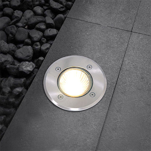 Bright Star Outdoor Round Recessed Ground Light