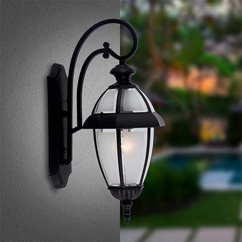 Bright Star Down Facing Outdoor Wall Lantern