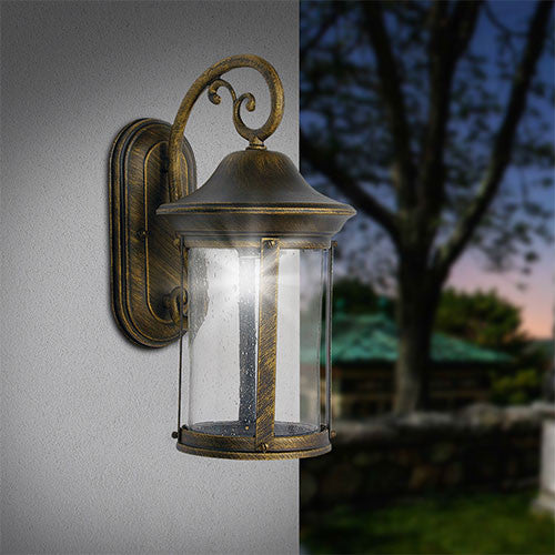 Bright Star Tubular Aluminium Outdoor Wall Light