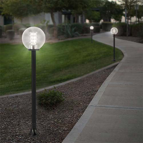 Bright Star Pvc Outdoor Bollard